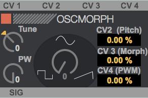OscMorph