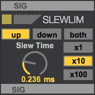 SLEWLIM