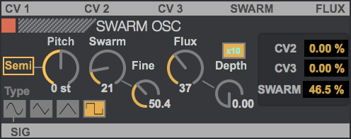SWARM OSC