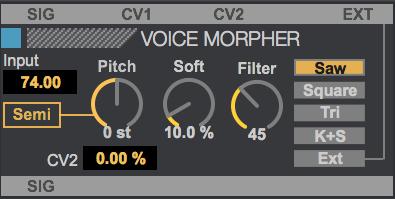 VoiceMorpher